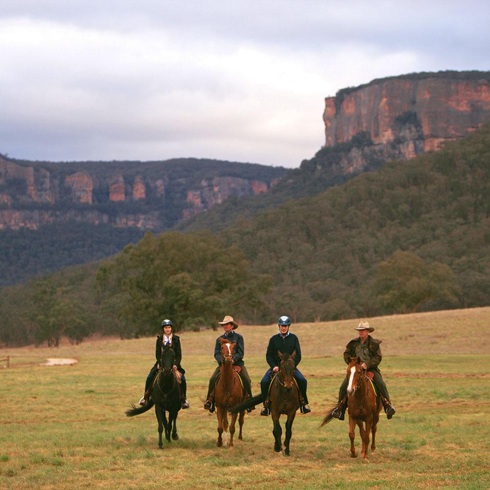 blue mountains horse riding emirates