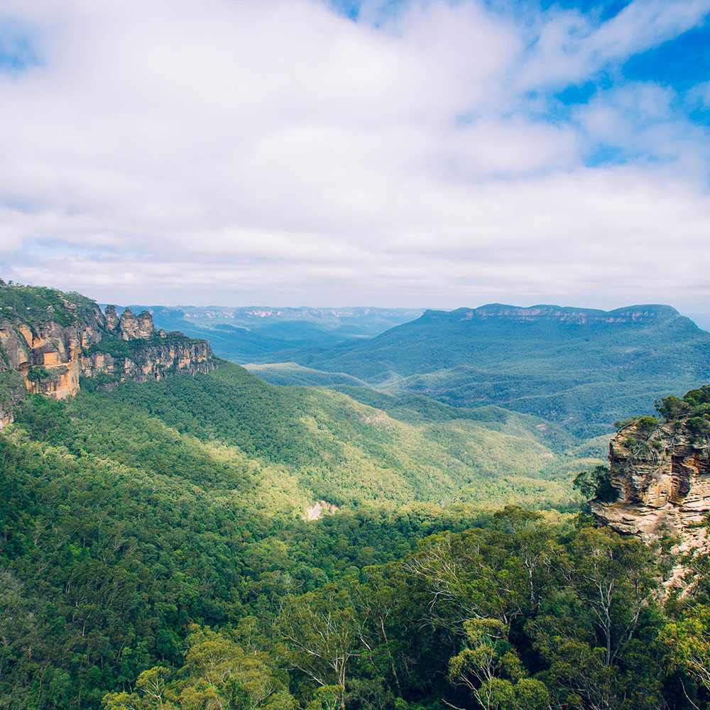 blue mountains tour trail running