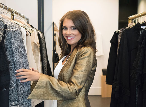 An image of Josephine Eve, your personal stylist on your private Sydney shopping tour