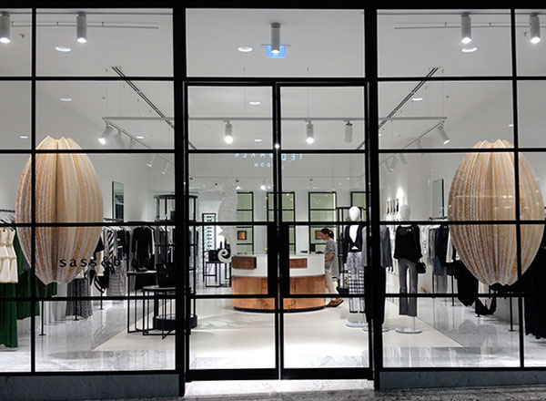 An image of sass and bide store on your private Sydney shopping tour with a personal stylist