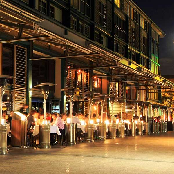 An image of woolloomooloo Wharf as seen on your evening gourmet foodie private tour