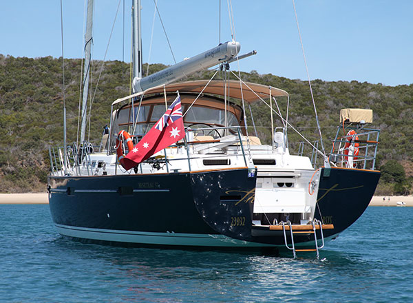 An image of The Count a luxury sailing yacht on Sydney Harbour for your private sailing experience